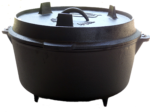 12 inch Ranger Nick Cast Iron Camp Oven