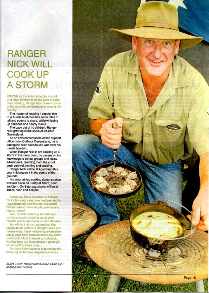 Ranger Nick at AgroTrend Bundaberg