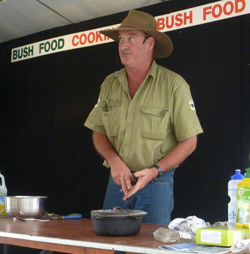 Bush Cooking Demonstration with Ranger Nick