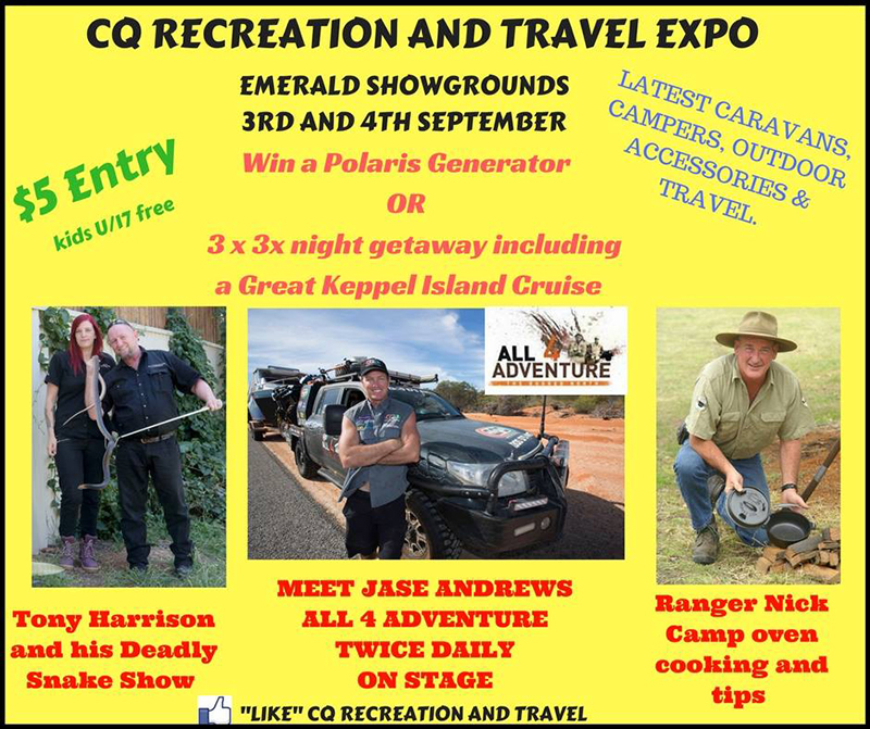 Ranger Nick @ Central Queensland Recreation and Travel Expo