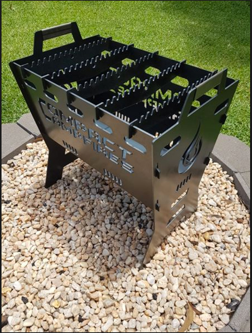 Compact Campfire foldable fire pit
