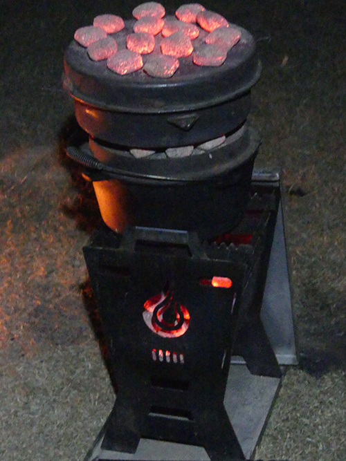 Compact Campfire Pit