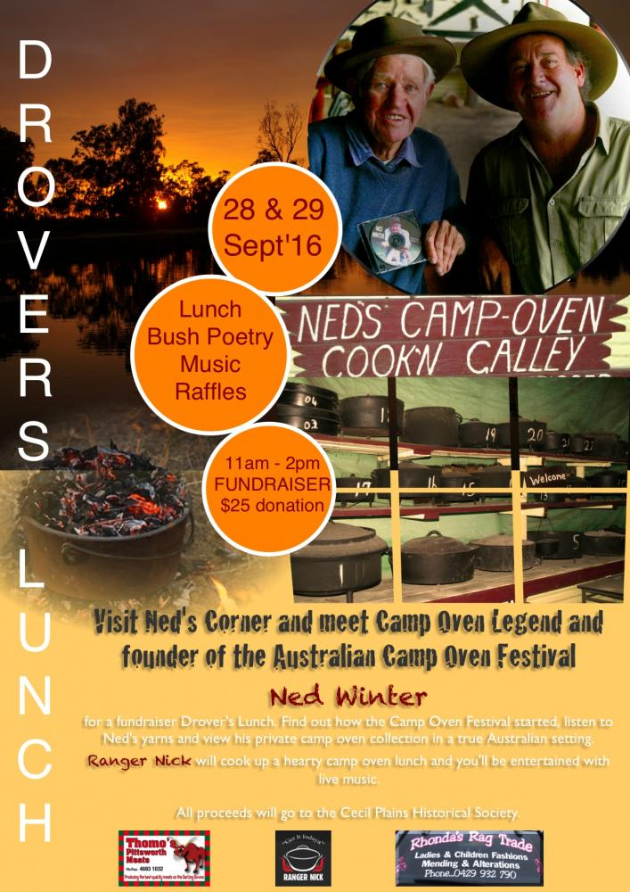 Drover's Lunch with Ned Winter and Ranger Nick