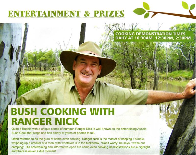Ranger Nick at Gold Coast Caravan and Camping Expo