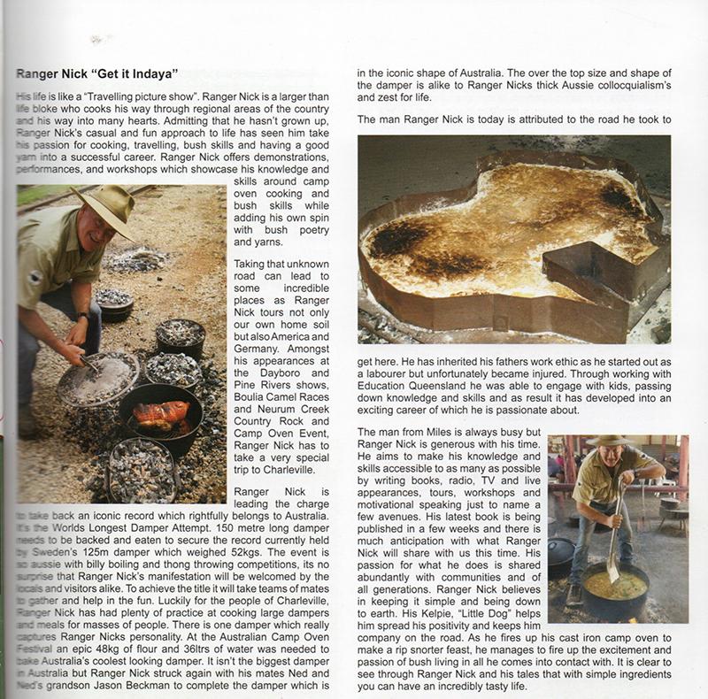Ranger Nick in Heartland Magazine August 2019