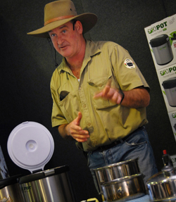 Ranger Nick Cooking Demonstration with EcoPot