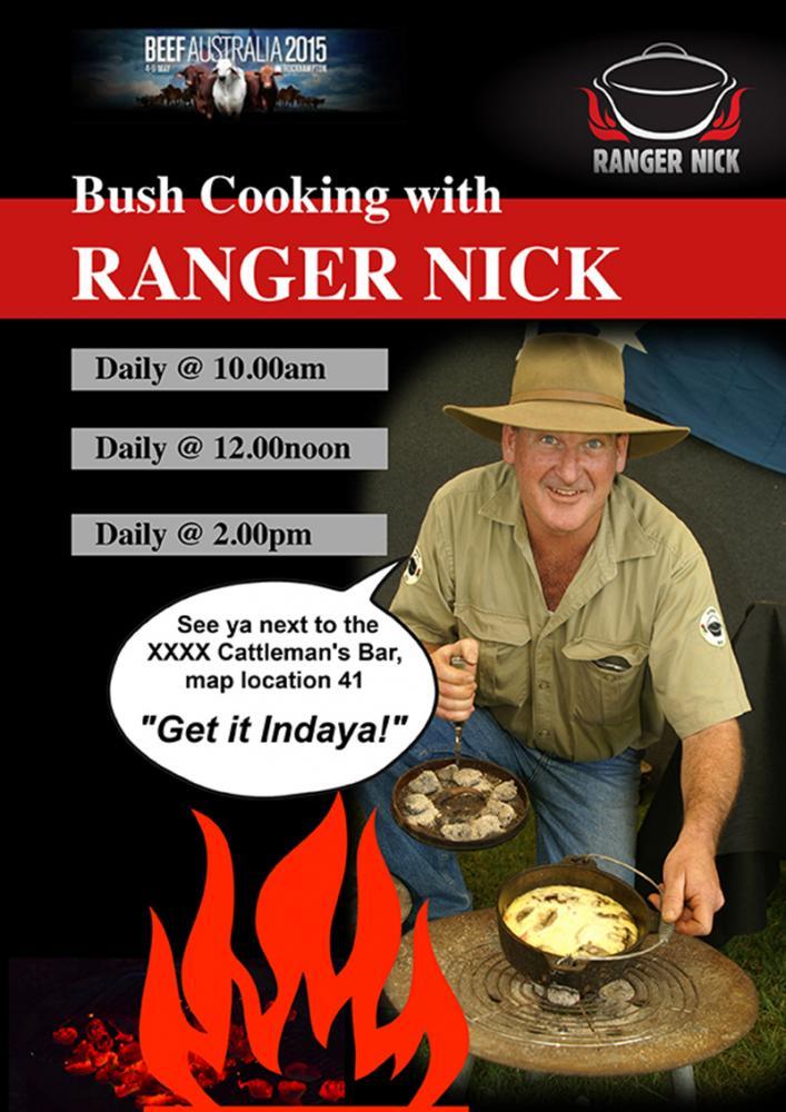 Ranger Nick at Beef Australia Rockhampton