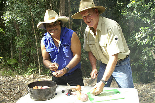 Camp Oven bush cooking with Ranger Nick and David Hudson