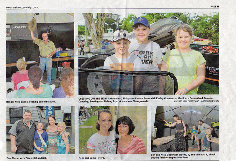Ranger Nick in Sunshine Coast Daily