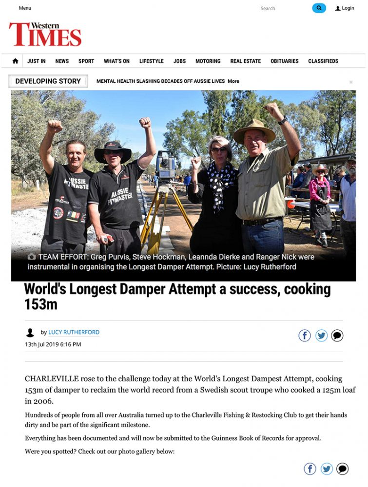 Worlds longest Damper a success